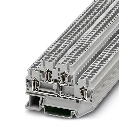 Componentenserieklem STTB 2,5-DIO/O-U BK Zwart Phoenix Contact 50 stuks