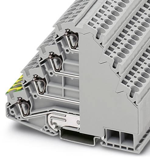 Installatie-etageklem ST 4-PE/3L Grijs Phoenix Contact