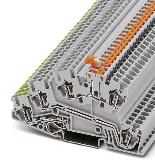 Installatie-etageklem STI 2,5-PE/L/LTB Grijs Phoenix Contact 50 stuks