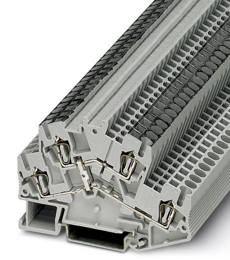 Componentenserieklem STTBS 2,5-DIO/O-U BK Zwart Phoenix Co