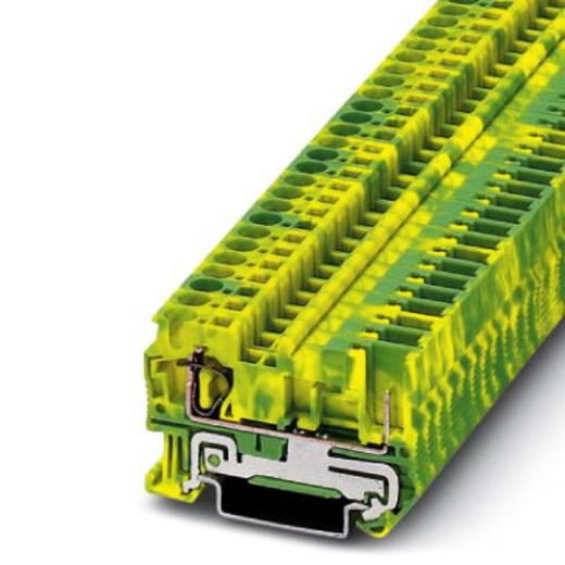 Aardklem ST 4/1P-PE Groen-geel Phoenix Contact 50 stuks