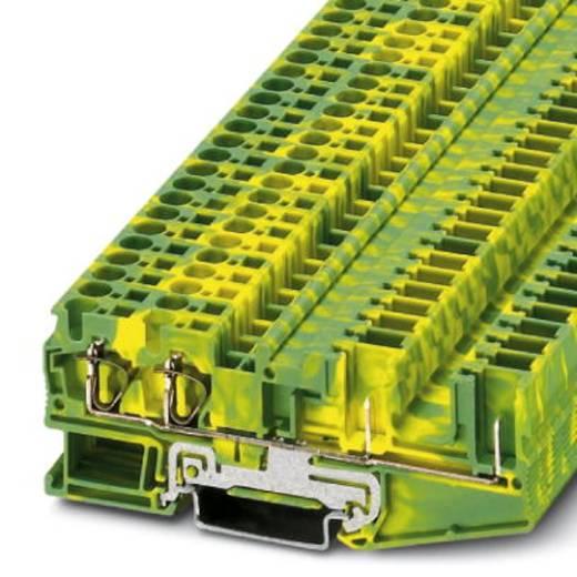 Aardklem ST 4-QUATTRO/2P-PE Groen-geel Phoenix Contact 50 stuks