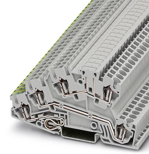 Installatie-etageklem STI 2,5-PE/L/LB Grijs Phoenix Contac
