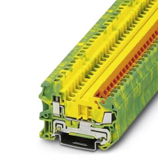 Phoenix Contact QTCU 1,5-PE Doorgangsserieklem QTCU 1,5-PE Groen-geel Inhoud: 50 stuks