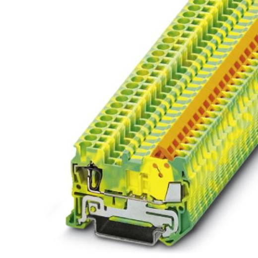 Phoenix Contact QTCS 1,5-PE Doorgangsserieklem QTCS 1,5-PE Groen-geel Inhoud: 50 stuks