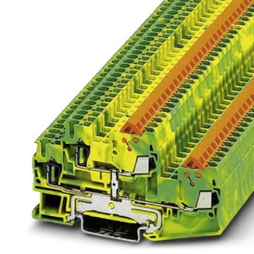 Phoenix Contact QTTCBS 1,5-PE Doorgangsserieklem QTTCBS 1,5-PE Groen-geel Inhoud: 50 stuks
