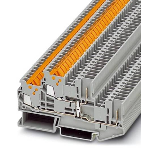 Phoenix Contact QTTCB 1,5/ 2P-PV 2-lagige klem QTTCB 1,5/ 2P-PV Grijs Inhoud: 50 stuks