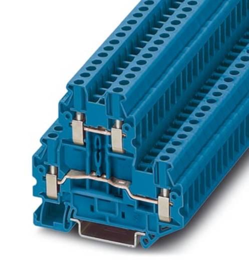 Phoenix Contact UTTB 2,5 BU Doorgangsserieklem UTTB 2,5 BU Blauw Inhoud: 50 stuks