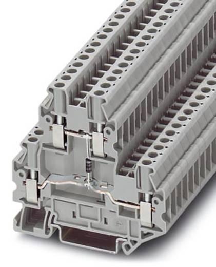 Phoenix Contact UTTB 2,5-DIO/U-O Componentenserieklem UTTB 2,5-DIO/U-O Grijs Inhoud: 50 stuks