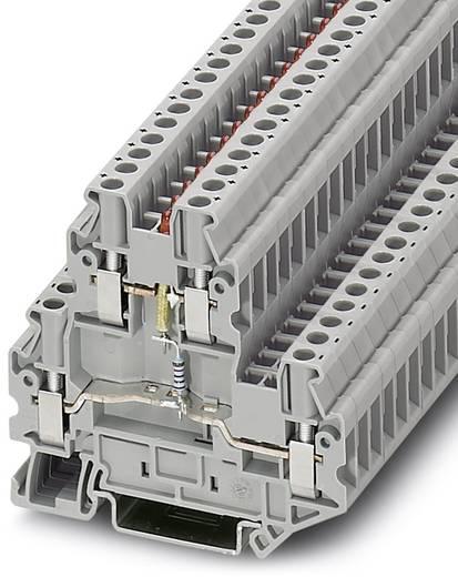 Phoenix Contact UTTB 2,5-LA 60 RD Componentenserieklem UTTB 2,5-LA 60 RD Grijs Inhoud: 50 stuks