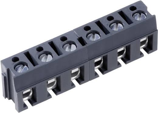 Klemschroefblok 2.50 mm² Aantal polen 6 AK110/6DS PTR Grijs 1 stuks