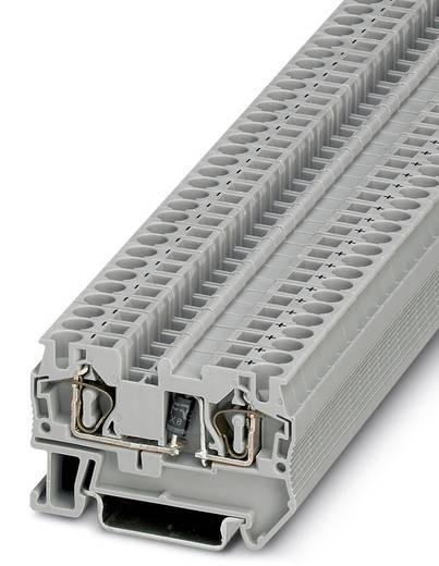 Componentenserieklem ST 4-DIO 1N 5408/R-L Grijs Phoenix Co