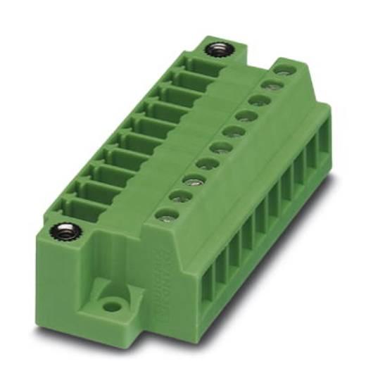 Penbehuizing-kabel MCVU Totaal aantal polen 4 Phoenix Contact 1833043 Rastermaat: 3.81 mm 50 stuks