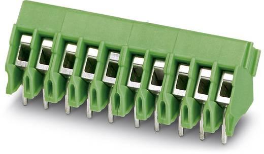 Klemschroefblok 2.50 mm² Aantal polen 8 FRONT 2,5-V/SA 5/ 8 BK GES.KLK Phoenix Contact Groen 10 stuks