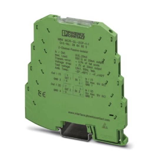 Phoenix Contact MINI MCR-SL-2CP-I-I-SP 2864781 MINI MCR-SL-2CP-I-I-SP - passieve isolatoren 1 stuks