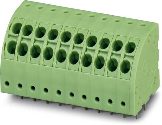 Veerkachtklemblok 1.50 mm² Aantal polen 3 PTDA 1.5 / 3-3.5 Phoenix Contact Groen 50 stuks