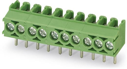 Klemschroefblok 1.50 mm² Aantal polen 2 PT 1,5/ 2-3,5-V Phoenix Contact Groen 250 stuks