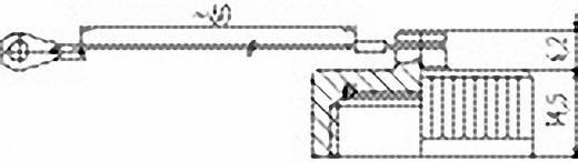 Vermogen ronde stekkerverbinding serie 694 Beschermkap 08-0427-000-000 Binder 1 stuks