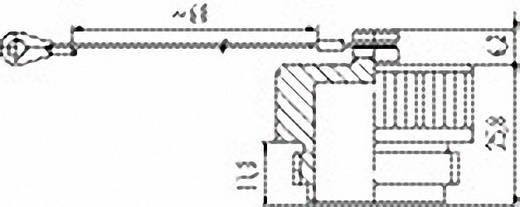 Vermogen ronde stekkerverbinding serie 694 Beschermkap 08-0428-000-000 Binder 1 stuks