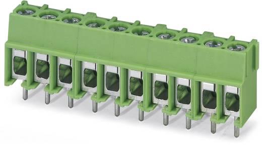 Klemschroefblok 4.00 mm² Aantal polen 8 PT 2,5/ 8-5,0-H Phoenix Contact Groen 100 stuks