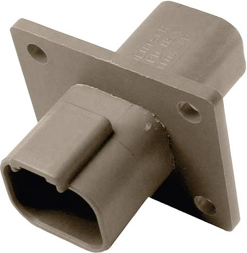 Connector DT-Serie Busbehuizing met flens Deutsch DT04-4P-L012 IP68 Aantal polen: 4