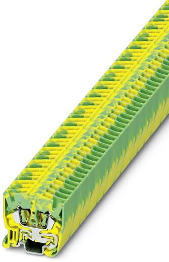 Phoenix Contact MSB 2,5-PE MSB 2,5-PE - mini-doorgangsklem Groen-geel Inhoud: 50 stuks