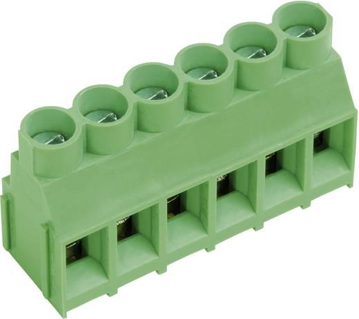 Klemschroefblok 4.00 mm² Aantal polen 10 AKZ840/10-6.35-V PTR Groen 1 stuks