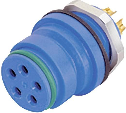 Ronde miniatuuraansluitstekkers met kleurcodering serie 720 Flensdoos Binder 99-9108-60-03 IP67 (in geplugde toestand) A