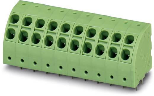 Veerkachtklemblok 2.50 mm² Aantal polen 4 PTDA 2,5 / 4-5,0 Phoenix Contact Groen 50 stuks