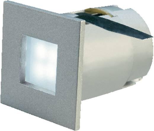 SLV Mini Frame 112711 LED-inbouwlamp 0.3 W Neutraal wit Zilver-grijs