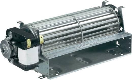 Tangentiële ventilator, motor links