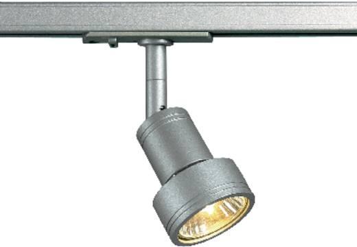 SLV Puri 143392 230V-railsysteem lamp 1-fasig GU10 50 W Halogeen Zilver-grijs