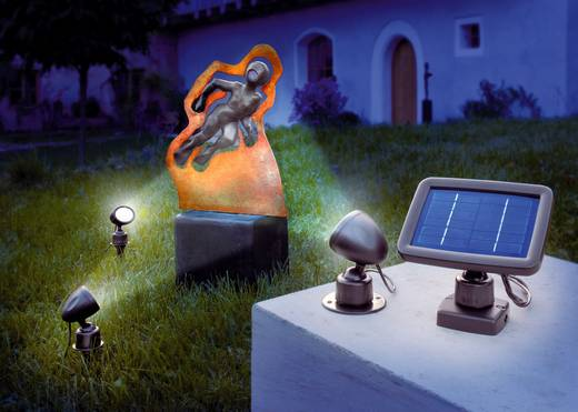 Solarspot Koud-wit Renkforce SP303K Zwart