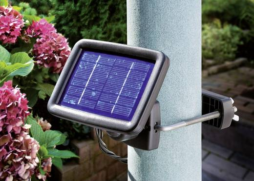 Solarspot LED Koud-wit Renkforce Trio SP303K Zwart