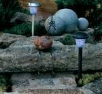 Tuinlamp op zonne-energie
