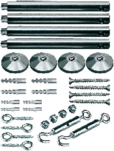 12V-kabelsysteemcomponenten Spanmontageset Paulmann Spannmontageset, chrom 17834 Chroom