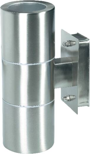 Buitenwandlamp GU10 70 W Up/Down 572183 RVS