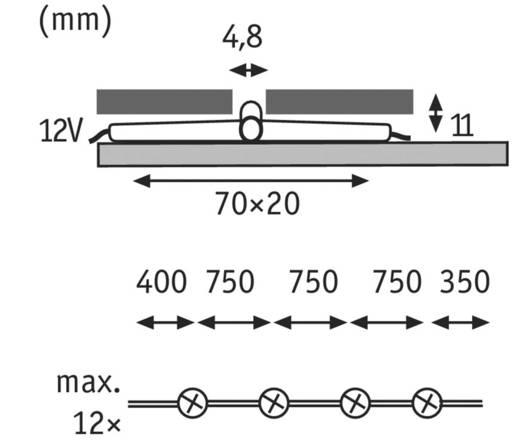 LED-voegenlamp Uitbreidingsset 1.1 W Daglicht-wit