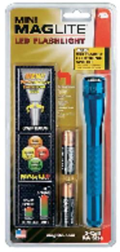 LED Zaklamp MAG LED Technology Mini-Mag 2AA 77 lm 118 g Blauw