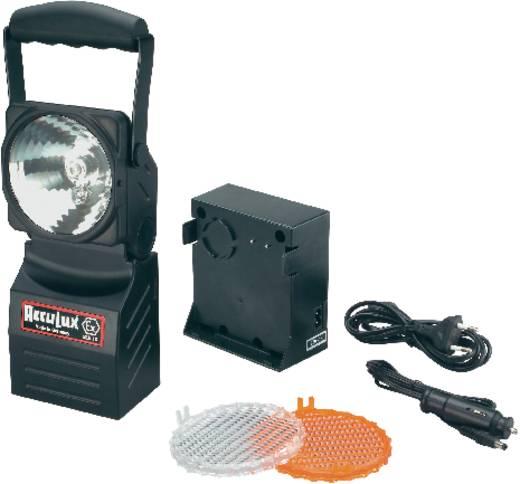 AccuLux 457481 Explosieveilige werk- en noodstroomlamp voor EX-zones: 1, 2, 21, 22 Xenongloeilamp · LED-pilootlamp TÜV-A 07 ATEX 0001X Xenon-gloeilamp: 4 h · LED-pilootlamp: 85 h Zwart