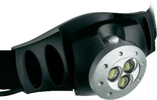 LED Lenser H3 LED Hoofdlamp Zwart werkt op batterijen