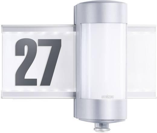 Huisnummerlamp met bewegingsmelder G9 80 W Steinel L 270 S 647810 Aluminium