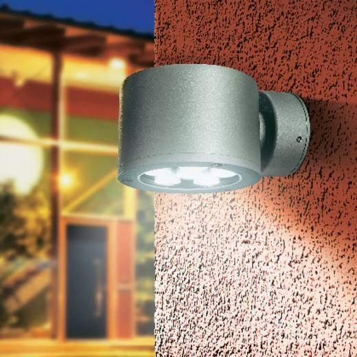 Buiten LED-wandlamp Grijs 8.1 W Esotec 201100