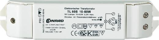 Halogeen transformator TL60 S 12 V 10 - 60 W Dimbaar met faseafsnijdingsdimmer