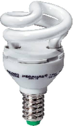 Spaarlamp E14 5 W = 28 W Spiraal Daglicht-wit 77 mm Megaman 1 stuks