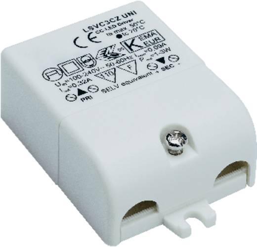 SLV LED-driver Constante stroomsterkte 1 tot 3 W 320 mA 3 - 9 V/DC Dimbaar