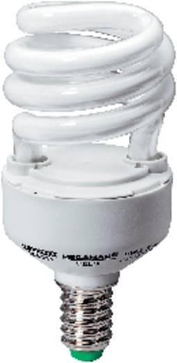 Spaarlamp E14 11 W = 52 W Spiraal Daglicht-wit 100 mm Megaman 1 stuks