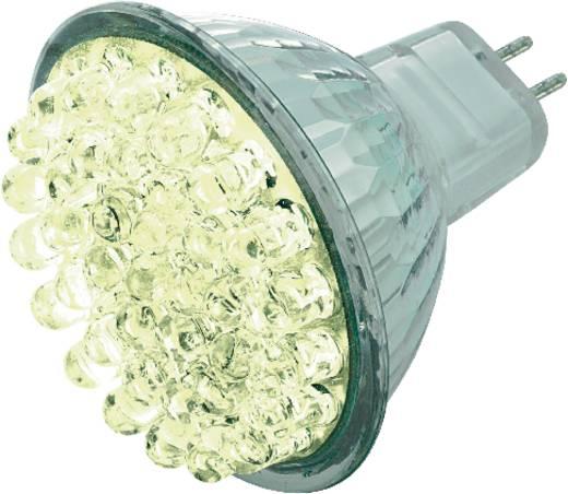 LED (één kleur)-lamp GU5.3 Reflector 1.6 W = 15 W Koudwit (Ø x l) 50 mm x 52 mm Energielabel: n.v.t. 1 stuks