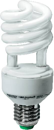 Spaarlamp E27 20 W = 89 W Spiraal Daglicht-wit 134 mm Megaman 1 stuks