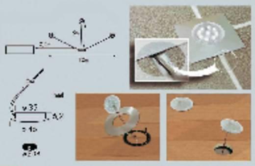 Paulmann 98794 LED-inbouwlamp Set van 3 3 W Neutraal wit Transparant